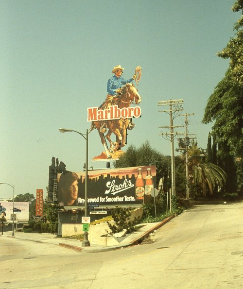 The Sunset Strip, West Hollywood, California, April 4, 1985