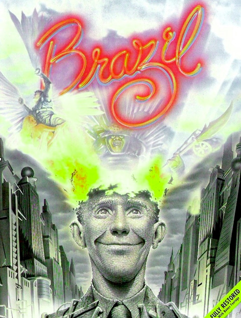 Heffe'Film'in returns tonight with our April showing of Terry Gilliam's BRAZIL. Join us at Brewvies Cinema Pub (677 S. 200 W. 21+) tonight at 8pm. Heffe'Film'in is always free, so grab your friends, grab a beer and catch one of the best sci-fi movies ever made. Tonight!