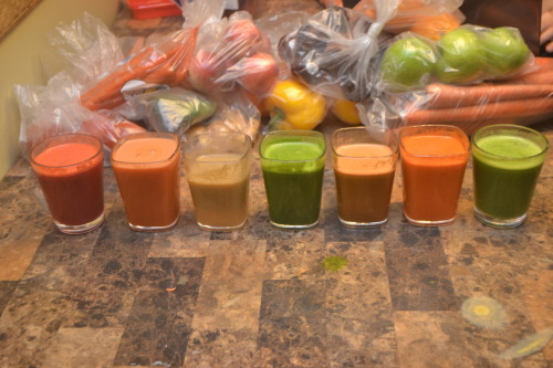 Went on a juicing frenzy this morning :)