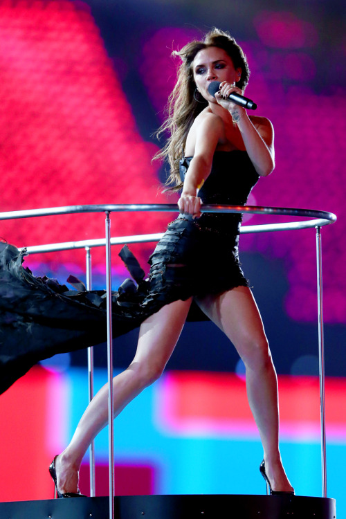Victoria Beckham at Olympics 2012 Closing Ceremony