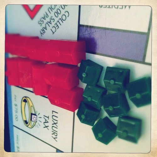 Go ahead. Land here.  #monopoly (Taken with Instagram)