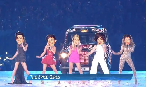 gay-bow:  The Spice Girls at the Olympics 2012