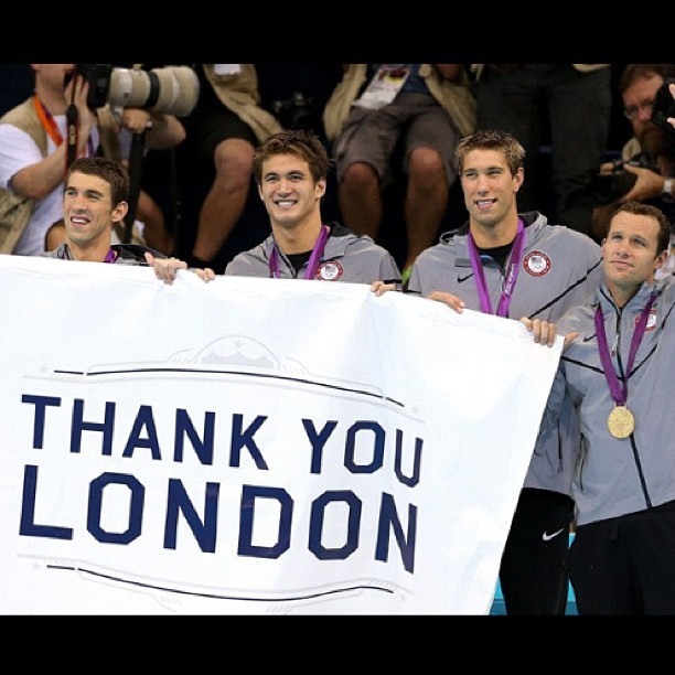 #thankyou #london2012 #olympics #sports #history (Taken with Instagram)
