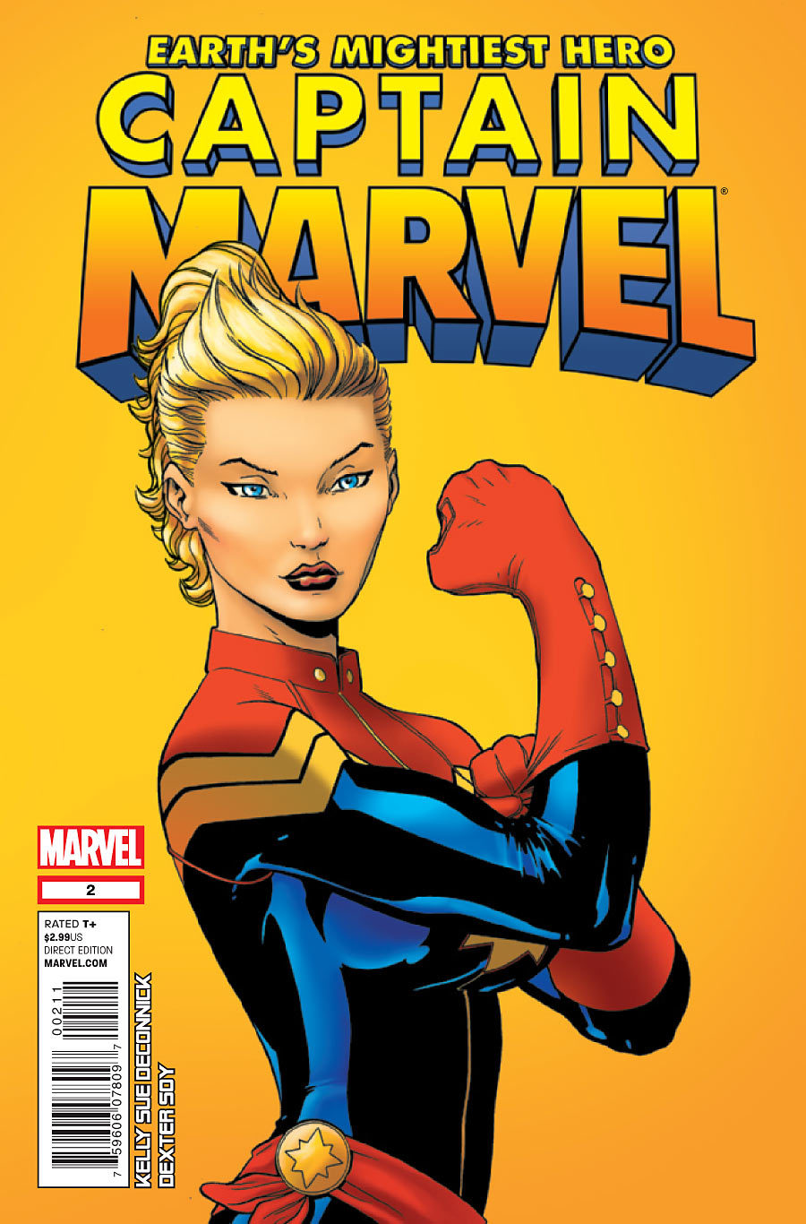 Captain Marvel #2 Contest (Full rules and overview HERE) Like or Reblog this post and you could win a copy of the issue, a pin (thanks Kelly Sue!) and entry into the larger contest.  Note: It is difficult for me to contact you if you don't have an Ask box.