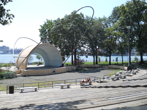 East river amphitheater, where Wild Style was filmed.  So stoked to finally see this place in person!