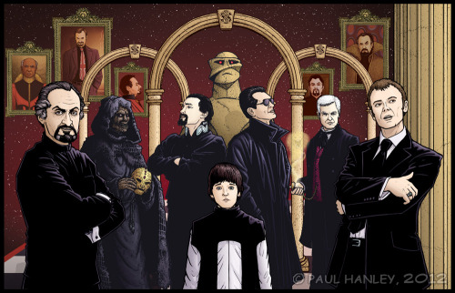 All the faces of Gallifrey's OTHER notorious renegade… Past Masters by *PaulHanley