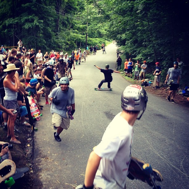Central mass slide jam (Taken with Instagram)