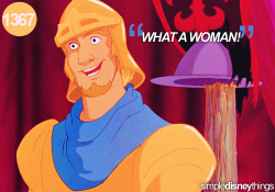"keep-calm-and-disney-on:  ""What a woman!"""