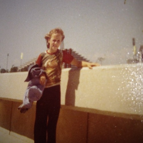 This was me at the 1976 Montreal Olympics  (Taken with Instagram at Olympic Stadium )