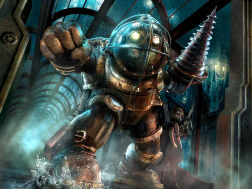barnaclebones:  Today I bought BioShock. Goodbye anything I was going to do ever.  You will enjoy it.
