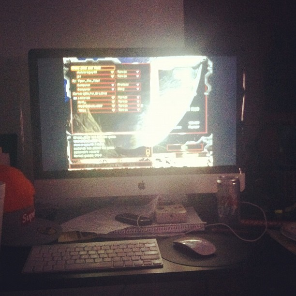 Time to relax #Starcraft #killingshit (Taken with Instagram)
