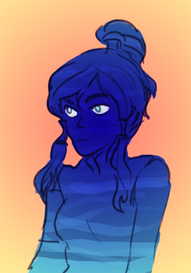 can't focus on anything long enough to finish it SORRY korra dear long time no see