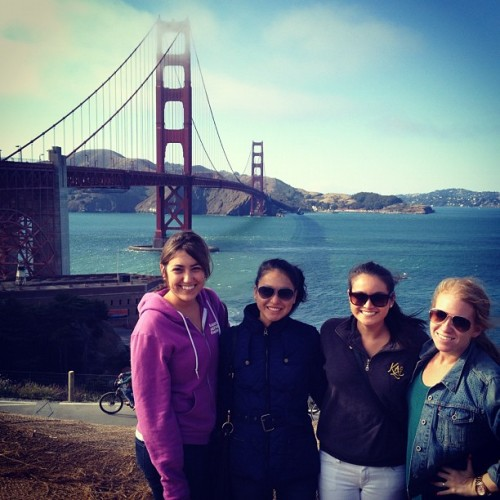 SF adventures: Golden Gate @kimiratto @sierrarafto  (Taken with Instagram at Golden Gate Bridge)