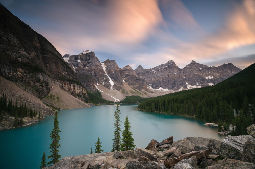 """Moraine Lake, Banff National Park,"" Canada"
