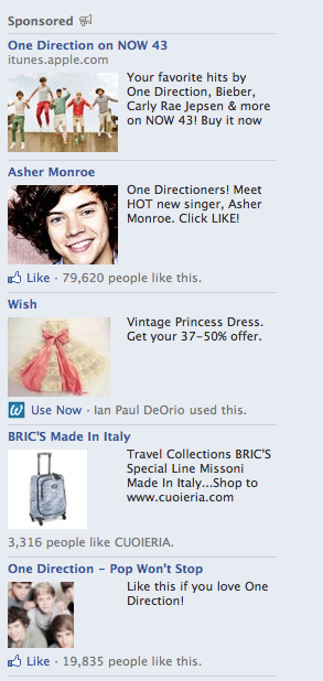 Excuse me Facebook, what are you doing? There are too many things wrong with this picture.