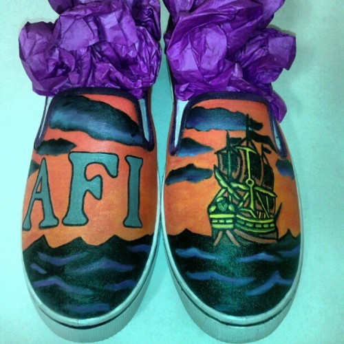 Another pair of AFI requested shoes :)