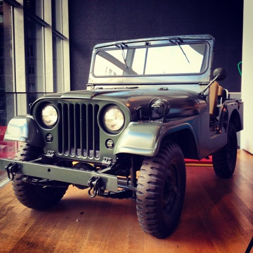 gearpatrol:  Jeep Willys-Overland #mint (Taken with Instagram)