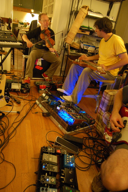 How many effects pedals can you fit into a room?