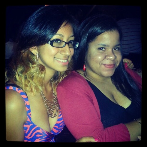 With @itbesoniaxoxo for @realjaymiller's bday dinner (Taken with Instagram)