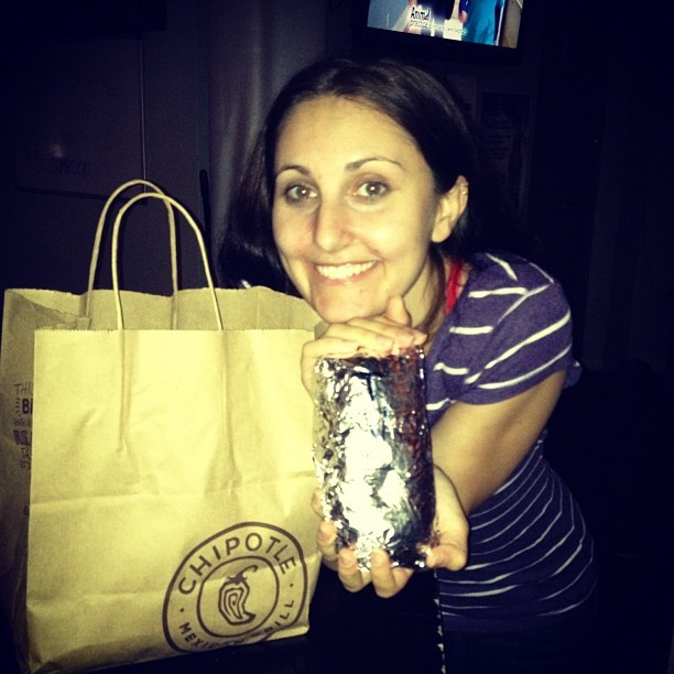 Chipotle!!!!!!!!!!! (Taken with Instagram)