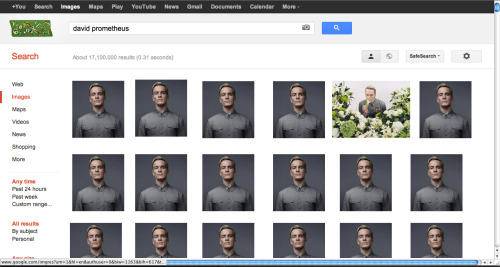Pretty much what you get when you google image search David from Prometheus.