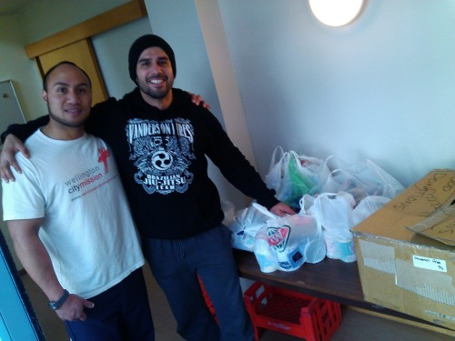 Food donated to Wellington City Mission