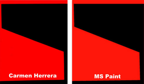 Carmen Herrera vs. MS Paint #4