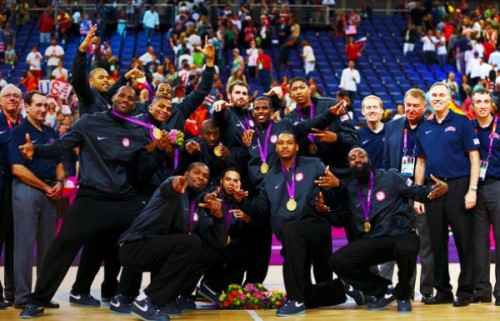The USA Men's Olympic Basketball Team posing like the Rock Steady Crew is ILL   Evidence of just how ILL and all influencing Hip Hop culture is on a brotha's perception of dopeness.