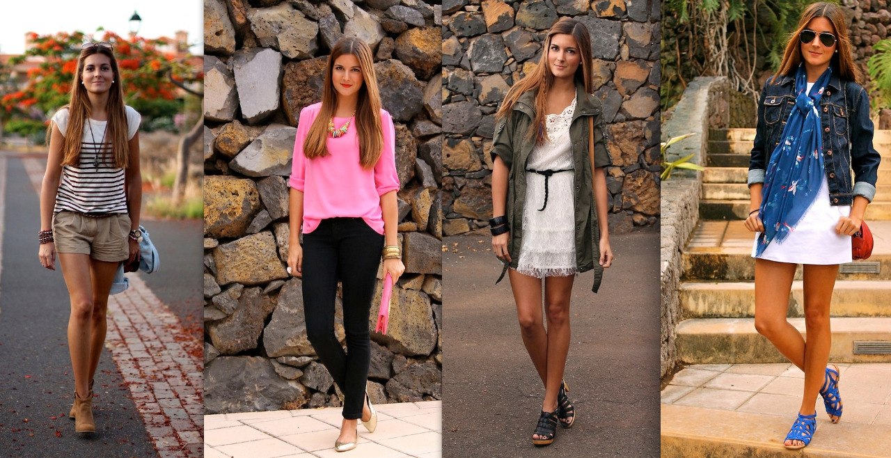 thestyleline:  MARIANELA YANES, 24, FASHION BLOGGER, SPAIN MARIANELA'S STYLE: I don't have a definite style…Depends on the day and how I feel-My wardrobe is a mix! INSPIRATION: Nothing special. I wear what I like, but I used to read fashion magazines and I love the style of Miranda Kerr, Kate Bosworth or Olivia Palermo. HERO:  Actually, I think there aree a lot of heroes in the world but we didn't know them. I think the real heroes are that people like priest or nuns who go to help people in the worst place of the world, with horrible conditions and all of that use for love, people who help, give love and they risk their lives in exchange for nothing. Those kinds of people are the real heroes, Teresa de Calcuta for example, there are lot, but nobody remembers all of them. HEELS OR FLATS? Heels (but flats are necessary!) FAVORITE SUMMER TRENDS:  Studs for sure, but also the military colors! SUMMER LOVIN: I am just blogging, beach, wearing all the outfits you can watch on my blog Marilyn's Closet, and listening to all the big hits's summer!   ——————————————————————————————————- like what you see? link up with marianela by checking out her site here:  http://marilynsclosetblog.com/