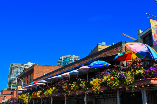 An upper deck in Pike Place Market, Seattle