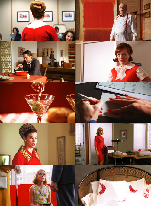 Lipstick lipstick lipstick red eris-esoteric:  Color Meme: Mad Men, Red ❧ prompted by ladyvillians