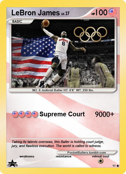 London 2012: Expert Witness - LeBron James