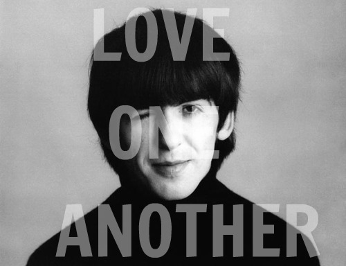 George Harrison's final words.