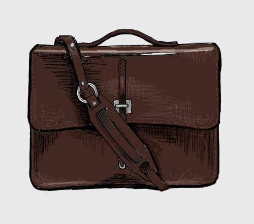 Leather schoolboy satchel by Billykirk. Handmade in the US using vegetable tanned leather. Not sure if it is menswear or unisex. Don't care. I want one.