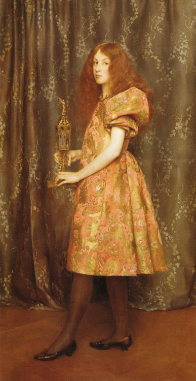 "Thomas Cooper Gotch (1854-1931), ""Heir To All The Ages"""