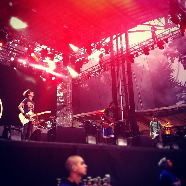 Bloc party (Taken with Instagram at Outside Lands Music Festival)