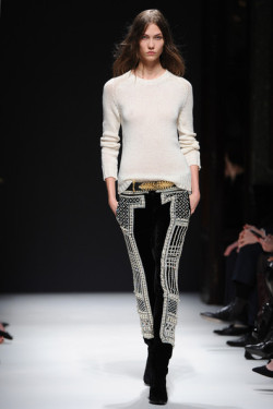 Karlie for Balmain Fall 2012