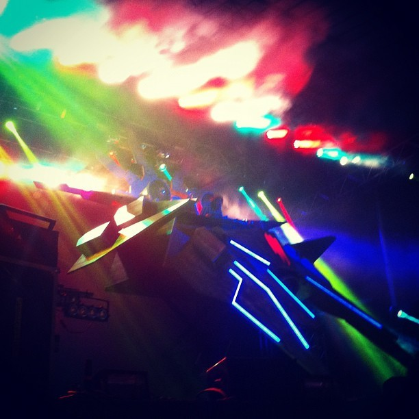 Skrillex was unlike anything I've ever experienced.  (Taken with Instagram at Outside Lands Music Festival)