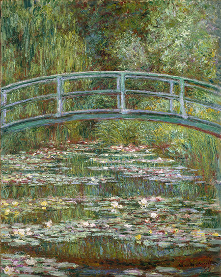 Bridge over a Pond of Water Lilies, 1899