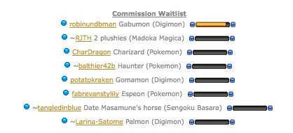 Pokemon vs Digimon! There's a small war going on in my waitlist XD