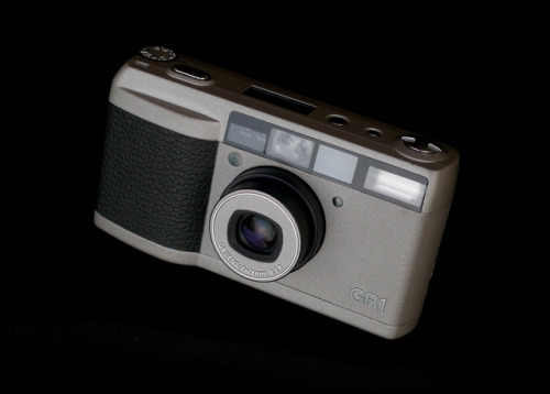 Ricoh GR1 by YET TO COME on Flickr.