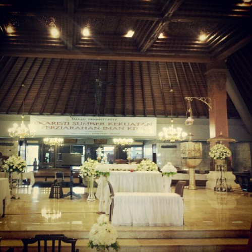 Gereja Stefanus Cilandak (Taken with Instagram)