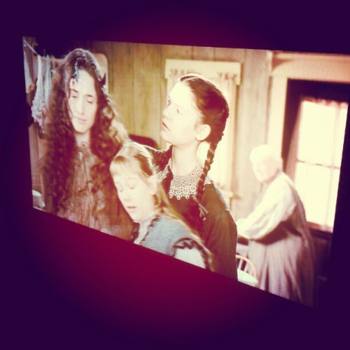 Up with Mum and my siblings watching one of our favorite movies! Little Women! @deejjaye #familytime (Taken with Instagram)
