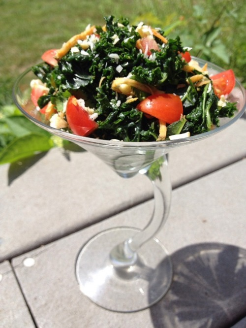 (Click here for recipe Kale & Sweet Potato Salad with Coconut Lime Dressing)