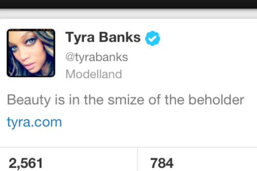 annawintour:  tyra that makes like zero sense