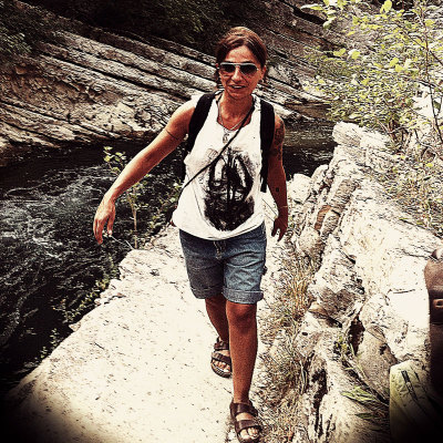 "Unconventional T shirt & Mrs ""Supertramp""…into the wild!"