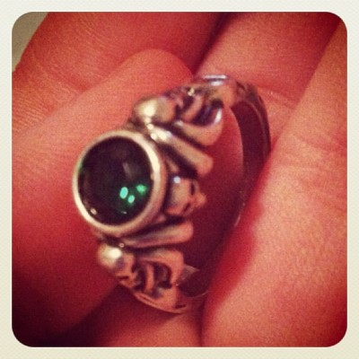 New addition to Ring collection #Potc #disney  #disneycoture  (Taken with Instagram)