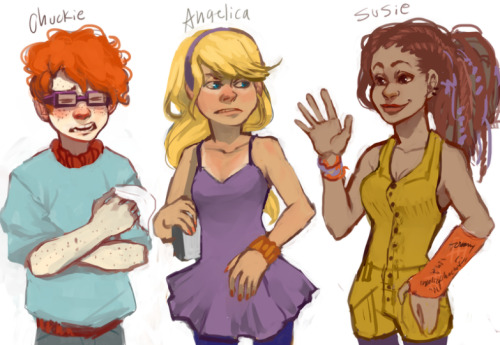 lextempus:  vondell-swain:  incredibleanimation:  The Rugrats by leerer-raum  yes  Susie and I should date or make out or something.