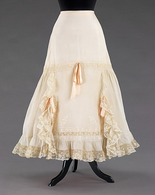 Petticoat 1905-1910 The Metropolitan Museum of Art