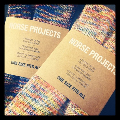 Norse Projects Spring 2013 Socks (Taken with Instagram)